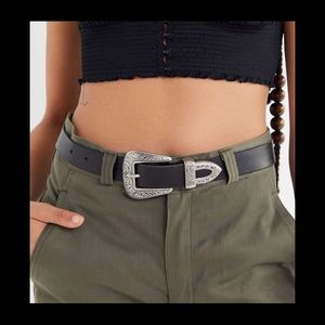 Urban Outfitters 100% leather western belt